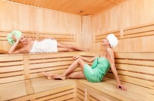 Беременные девушки в бане