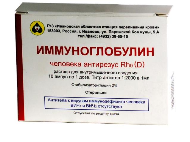 Иммуноглобулин после родов