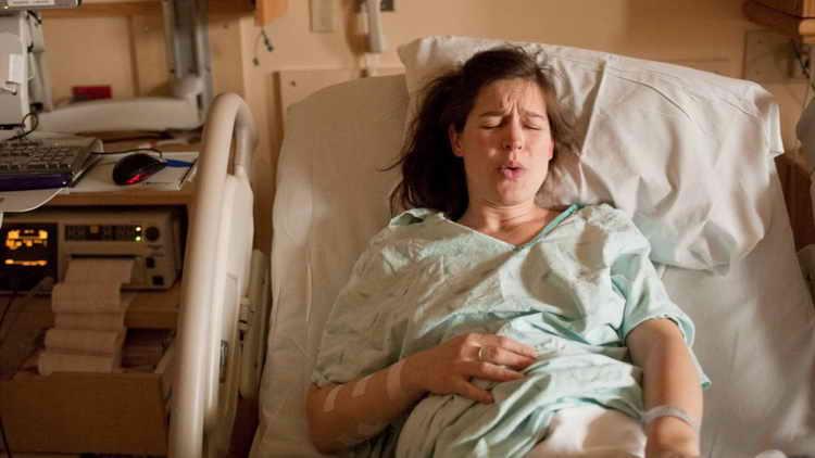 Как тужиться во время родов