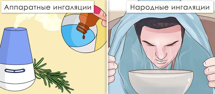 паровые ингаляции